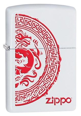 Широкая зажигалка Zippo Classic 28855 - фото 6352
