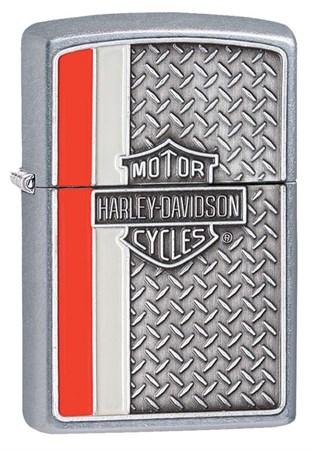 Широкая зажигалка Zippo Harley-Davidson 28732 - фото 6399