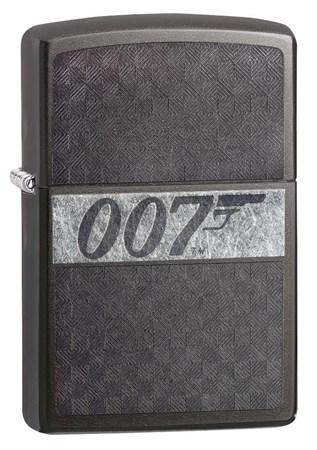Широкая зажигалка Zippo James Bond 29564 - фото 6406
