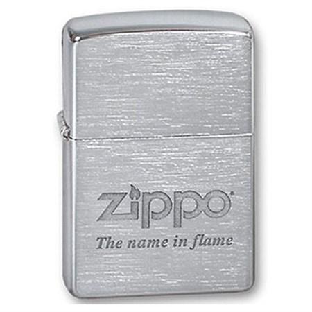 Широкая зажигалка Zippo Name in flame 200 - фото 6428