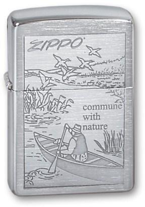 Широкая зажигалка Zippo Row Boat 200 - фото 6468