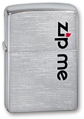 Широкая зажигалка Zippo ZIP ME 200 - фото 6527