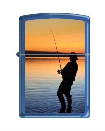 Широкая зажигалка Zippo 24534 FISHERMAN - фото 6540