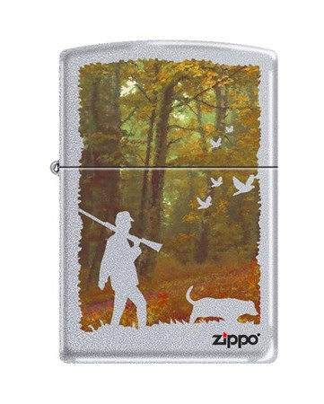 Широкая зажигалка Zippo HUNTING 205 - фото 6560