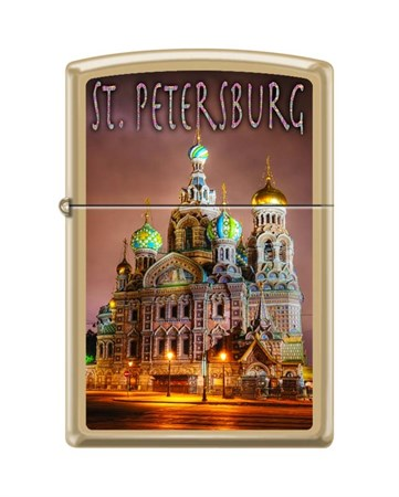 Зажигалка Zippo  254B ST. Peterburg - фото 6580