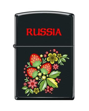 Зажигалка Zippo RUSSIAN KHOKHLOMA 218 - фото 6585