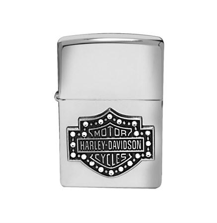 Широкая зажигалка Zippo Harley-Davidson Bar and S 28349 - фото 6689