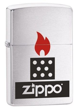 Широкая зажигалка Zippo Chimney 28782 - фото 6693