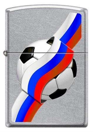 Широка зажигалка Zippo Russian Soccer 68357 - фото 6700