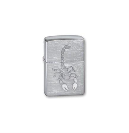 Широкая зажигалка Zippo Scorpion 200 - фото 6753