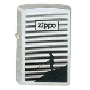 Широкая зажигалка Zippo Fishing 250 - фото 6758