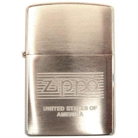 Широкая зажигалка Zippo Zippo USA 200 - фото 6760