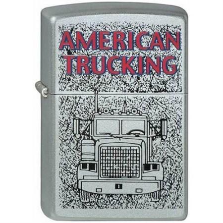Зажигалка Zippo American Trucking 1 205 - фото 6838