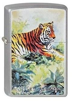 Зажигалка Zippo LP Tiger 205 - фото 6842