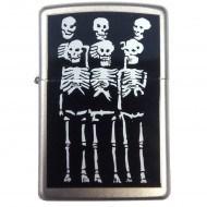 Зажигалка Zippo Skeletons 205 - фото 6844