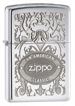 Зажигалка широкая Zippo an American Classic 250 на ZIPPO-RUSSIA.RU