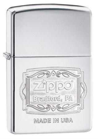 Зажигалка Zippo Classic с покрытием High Polish Chrome 29521 - фото 6886