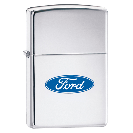 Зажигалка широкая Zippo 957 Ford 250F - фото 6909