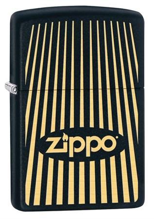 Зажигалка Zippo с покрытием Black Matte 29218 - фото 6915