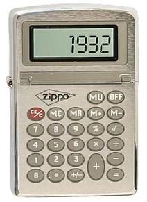 Зажигалка Zippo Calculator 200 - фото 6919