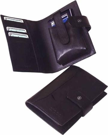 Портмоне с чехлом для телефона Zippo 63012 BL-330 коричневое - фото 6948