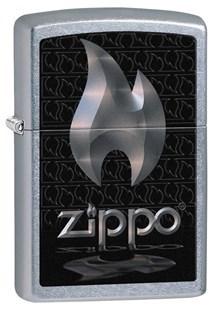 Широкая зажигалка Zippo 28445 - фото 7003