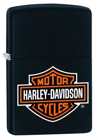 Широкая зажигалка Zippo Harley-Davidson 218HD.H252 - фото 7238