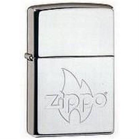 Широкая зажигалка Zippo Flame 250 - фото 7369