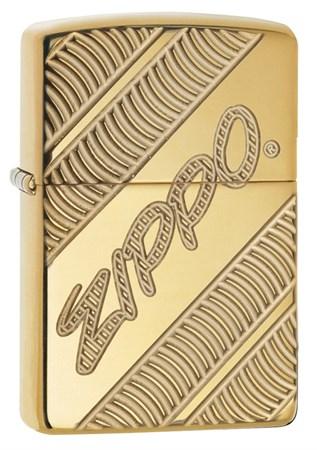 Зажигалка Zippo Armor® с покрытием High Polish Brass, 29625 - фото 7395