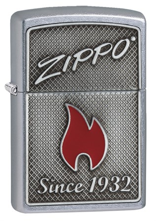 Зажигалка Zippo Classic с покрытием Street Chrome, 29650 - фото 7397