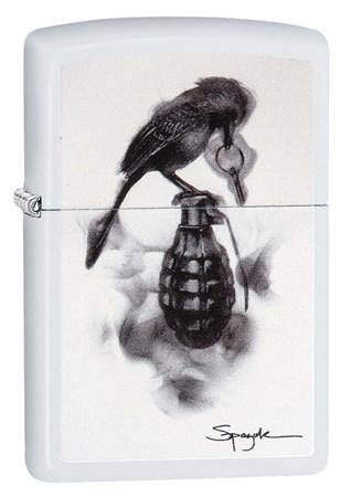 Зажигалка Zippo Classic с покрытием White Matte, 29645 - фото 7407