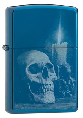 Зажигалка Zippo Classic с покрытием High Polish Blue, 29704 - фото 7422