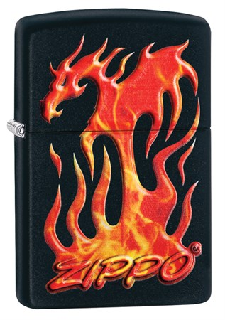 Зажигалка Zippo Classic с покрытием Black Matte, 29735 - фото 7450