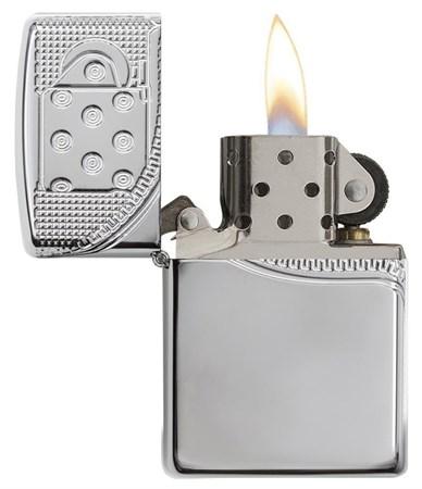 Зажигалка Zippo Armor® с покрытием High Polish Chrome, 29674 - фото 7475