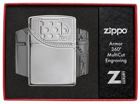 Зажигалка Zippo Armor® с покрытием High Polish Chrome, 29674 - фото 7477