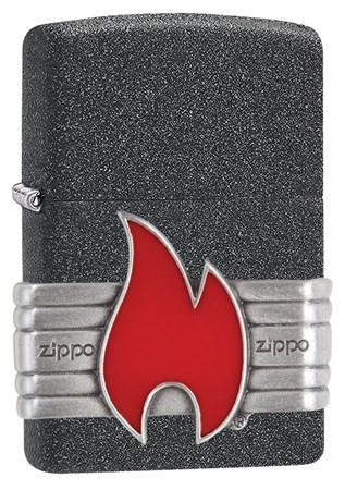 Зажигалка Zippo Classic с покрытием Iron Stone™, 29663 - фото 7498