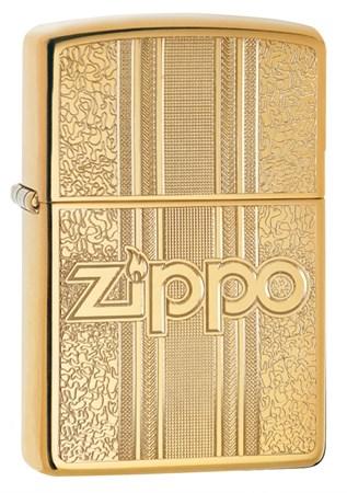 Зажигалка Zippo Classic с покрытием High Polish Brass, 29677 - фото 7505