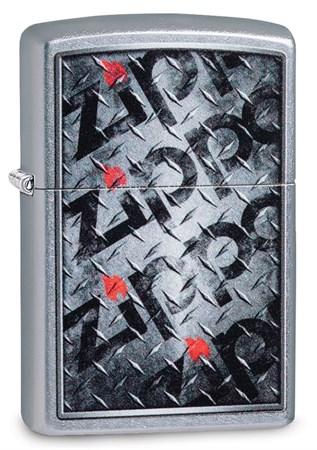 Зажигалка Zippo Diamond с покрытием Street Chrome™, 29838 - фото 7539