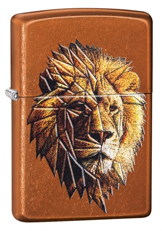 Зажигалка Zippo Polygonal Lion с покрытием Toffee™, 29865 - фото 7609