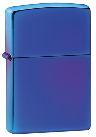 Зажигалка Zippo Classic с покрытием High Polish Indigo, 29899 - фото 7642