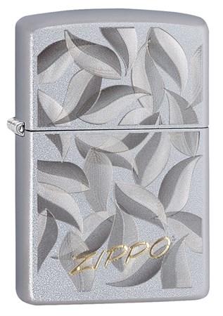 Зажигалка Zippo с покрытием Satin Chrome, 29908 - фото 7657