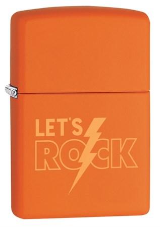 Зажигалка Zippo с покрытием Orange Matte, 29925 - фото 7671