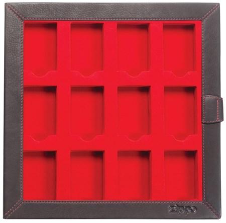 Кейс кожанный Zippo, коллекционера для 12-ти зажигалок, 2005422 - фото 7676