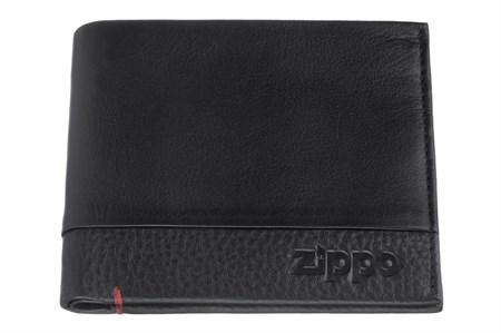 Портмоне Zippo, с защитой от сканирования Rfid, натуральная кожа, 2006022 - фото 7712