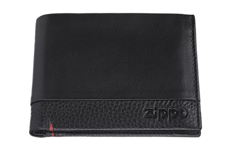 Портмоне Zippo, с защитой от сканирования Rfid, натуральная кожа, 2006023 - фото 7715
