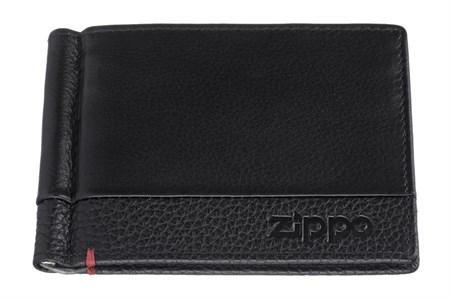 Зажим для денег Zippo, с защитой от сканирования Rfid, натуральная кожа, 2006025 - фото 7722