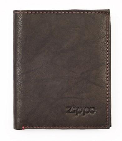 Портмоне Zippo, кожаное, вертикальное, 2005121 - фото 7734