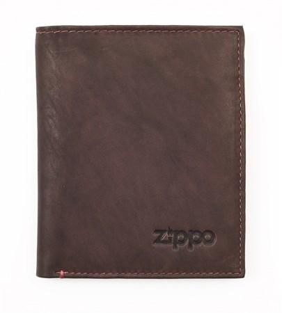 Портмоне Zippo, кожаное, вертикальное, 2005122 - фото 7738