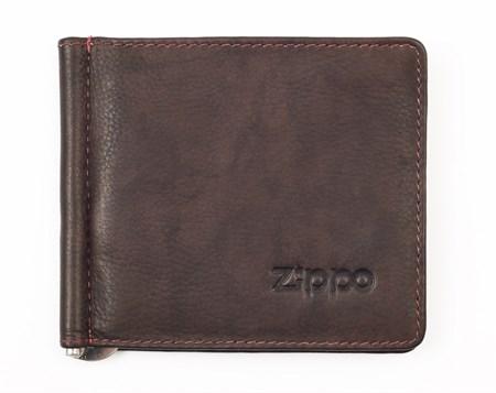 Зажим для денег Zippo, натуральная кожа, 2005126 - фото 7764