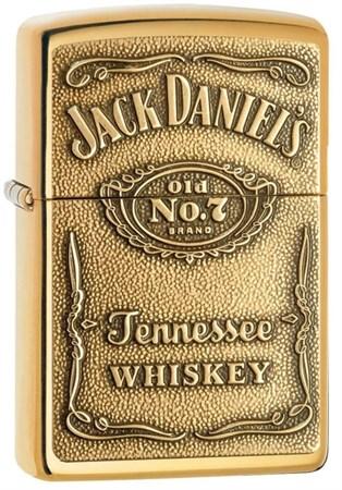 Широкая зажигалка Zippo Jack Daniel's 254BJD 428 - фото 7878